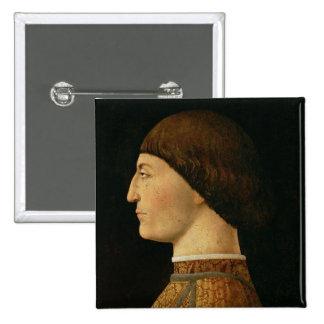 Sigismondo Malatesta 2 Inch Square Button