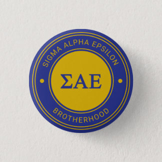 Sigma Alpha Epsilon | Badge 1 Inch Round Button