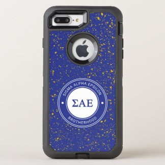 Sigma Alpha Epsilon | Badge OtterBox Defender iPhone 8 Plus/7 Plus Case