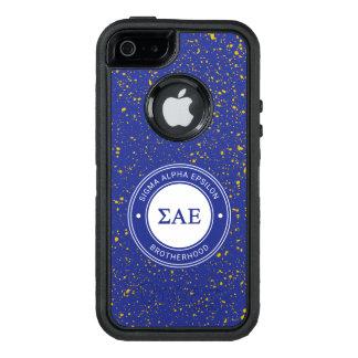 Sigma Alpha Epsilon | Badge OtterBox Defender iPhone Case