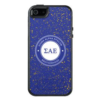 Sigma Alpha Epsilon | Badge OtterBox iPhone 5/5s/SE Case