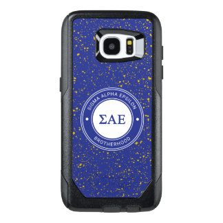 Sigma Alpha Epsilon | Badge OtterBox Samsung Galaxy S7 Edge Case