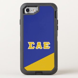 Sigma Alpha Epsilon | Greek Letters OtterBox Defender iPhone 8/7 Case