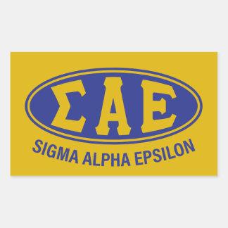 Sigma Alpha Epsilon | Vintage Sticker