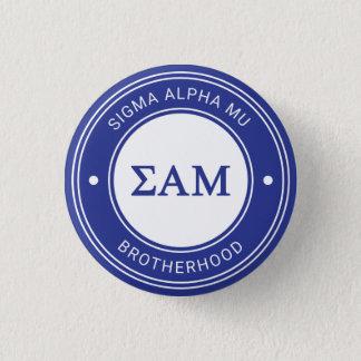 Sigma Alpha Mu | Badge 1 Inch Round Button