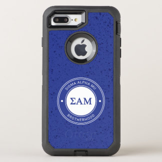 Sigma Alpha Mu | Badge OtterBox Defender iPhone 8 Plus/7 Plus Case
