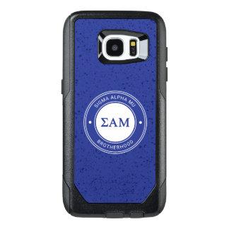Sigma Alpha Mu | Badge OtterBox Samsung Galaxy S7 Edge Case