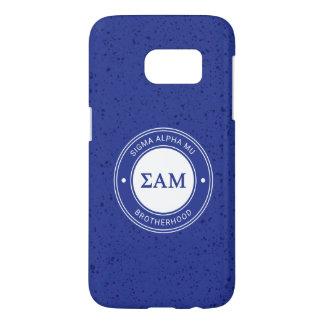Sigma Alpha Mu | Badge Samsung Galaxy S7 Case