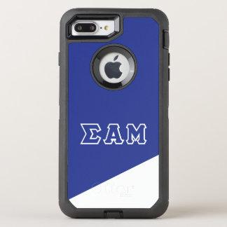 Sigma Alpha Mu | Greek Letters OtterBox Defender iPhone 8 Plus/7 Plus Case