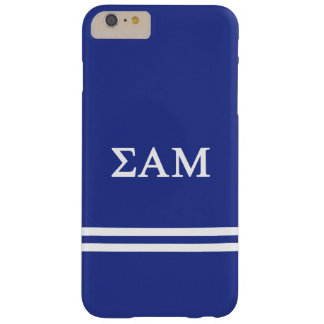 Sigma Alpha Mu | Sport Stripe Barely There iPhone 6 Plus Case