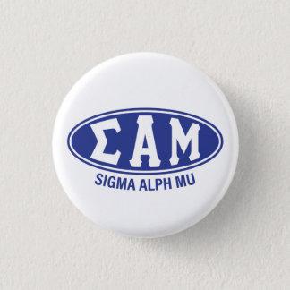 Sigma Alpha Mu | Vintage 1 Inch Round Button