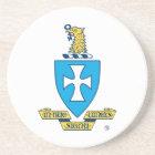Sigma Chi Crest Logo Coaster