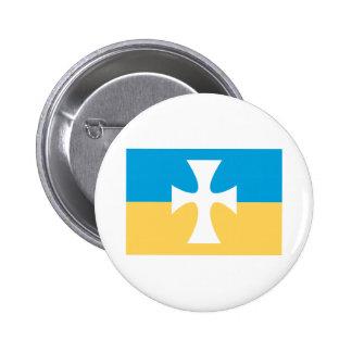 Sigma Chi Flag 2 Inch Round Button