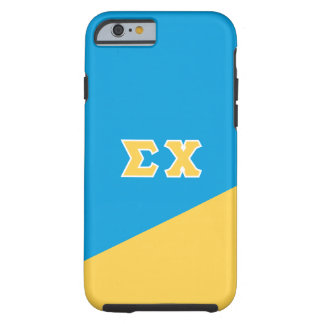 Sigma Chi | Greek Letters Tough iPhone 6 Case
