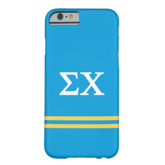 Sigma Chi | Sport Stripe Barely There iPhone 6 Case