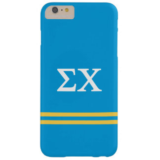 Sigma Chi | Sport Stripe Barely There iPhone 6 Plus Case