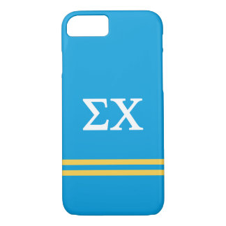Sigma Chi | Sport Stripe iPhone 8/7 Case