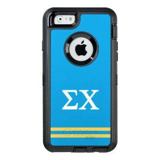 Sigma Chi | Sport Stripe OtterBox iPhone 6/6s Case