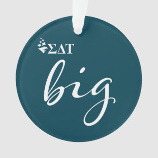 Sigma Delta Tau | Big Script Ornament