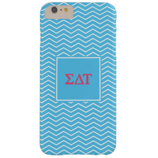 Sigma Delta Tau | Chevron Pattern Barely There iPhone 6 Plus Case