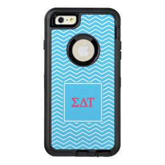 Sigma Delta Tau | Chevron Pattern OtterBox Defender iPhone Case