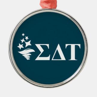 Sigma Delta Tau | Lil Big Logo Metal Ornament