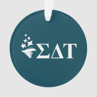 Sigma Delta Tau | Lil Big Logo Ornament