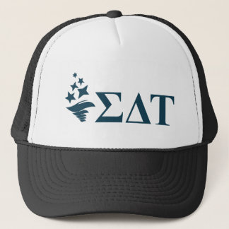 Sigma Delta Tau | Lil Big Logo Trucker Hat