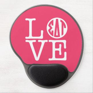 Sigma Delta Tau   Love Gel Mouse Pad