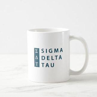 Sigma Delta Tau   Modern Type Coffee Mug