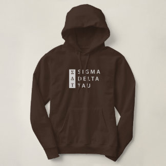 Sigma Delta Tau | Stacked Hoodie