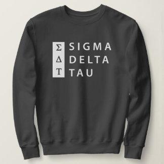 Sigma Delta Tau   Stacked Sweatshirt