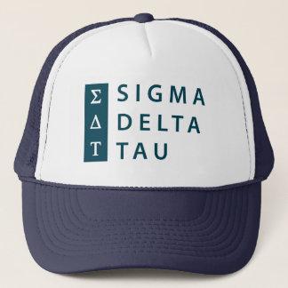 Sigma Delta Tau | Stacked Trucker Hat