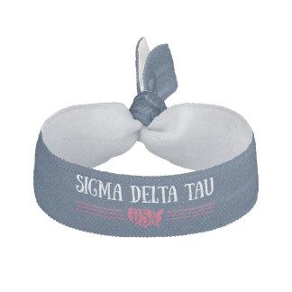 Sigma Delta Tau   USA Hair Tie