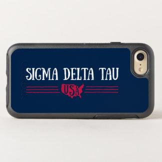 Sigma Delta Tau   USA OtterBox Symmetry iPhone 8/7 Case