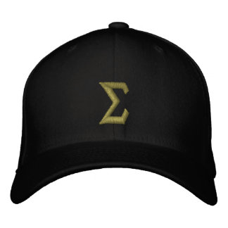 Sigma Embroidered Baseball Cap