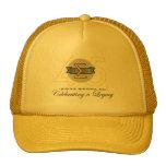 Sigma Gamma Nu 45th Anniversary Gold Hat