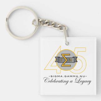 Sigma Gamma Nu 45th Anniversary Official Key Chain