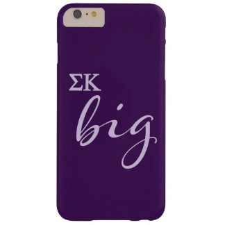 Sigma Kappa Big Script Barely There iPhone 6 Plus Case