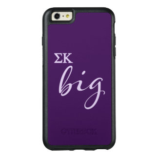 Sigma Kappa Big Script OtterBox iPhone 6/6s Plus Case