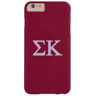 Sigma Kappa Lil Big Logo Barely There iPhone 6 Plus Case