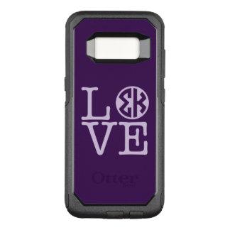 Sigma Kappa Love OtterBox Commuter Samsung Galaxy S8 Case