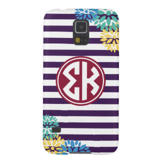 Sigma Kappa | Monogram Stripe Pattern Cases For Galaxy S5