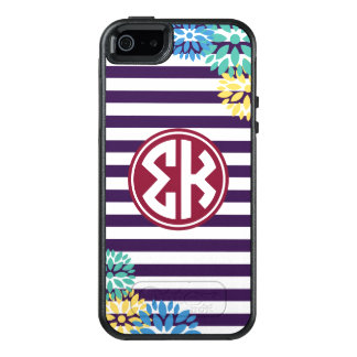 Sigma Kappa | Monogram Stripe Pattern OtterBox iPhone 5/5s/SE Case