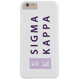 Sigma Kappa Stacked Barely There iPhone 6 Plus Case