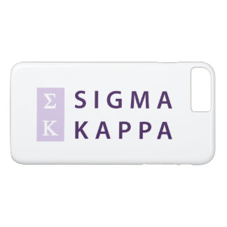 Sigma Kappa Stacked iPhone 8 Plus/7 Plus Case