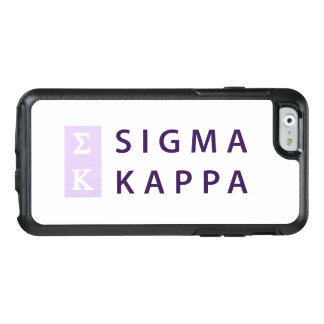 Sigma Kappa Stacked OtterBox iPhone 6/6s Case