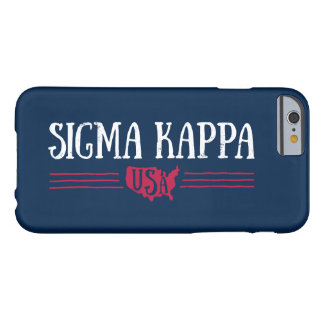 Sigma Kappa USA Barely There iPhone 6 Case