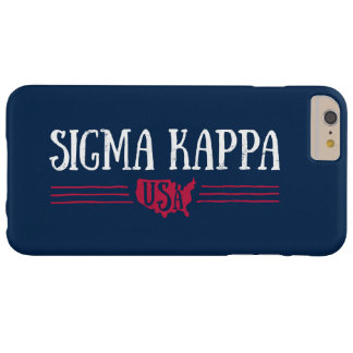 Sigma Kappa USA Barely There iPhone 6 Plus Case