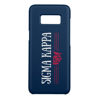 Sigma Kappa USA Case-Mate Samsung Galaxy S8 Case